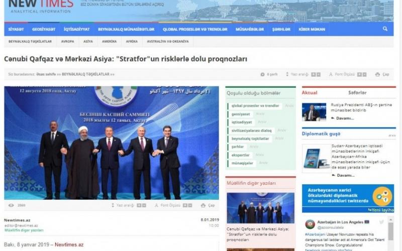 Cənubi Qafqaz və Mərkəzi Asiya: