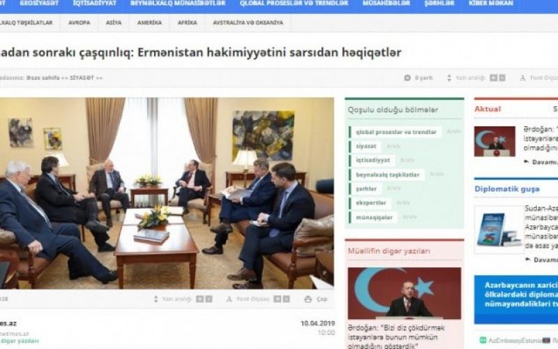 Vyanadan sonrakı çaşqınlıq: Ermənistan hakimiyyətini sarsıdan həqiqətlər