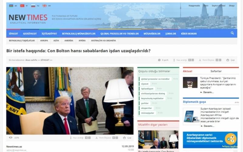 Bir istefa haqqında: Con Bolton hansı səbəblərdən işdən uzaqlaşdırıldı?