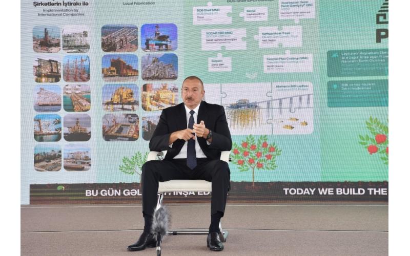 """Prezident İlham Əliyev:  """"Biz mütləq öz torpaqlarımıza qayıdacağıq"""""""