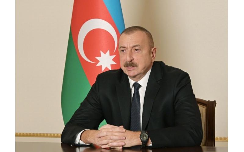 Prezident İlham Əliyev Ağdamın işğaldan azad olunması münasibətilə xalqımızı təbrik edib