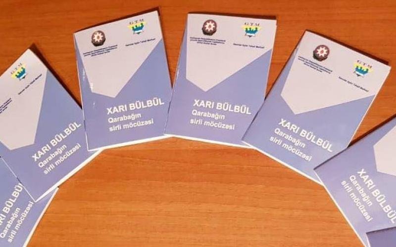 """""""Xarı Bülbül - Qarabağın sirli möcüzəsi"""" adlı ilk nəşr işıq üzü gördü"""
