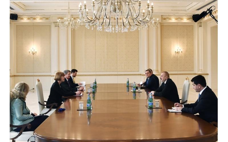 Prezident İlham Əliyev: Biz region ölkələri, Avropa İttifaqı arasında çox nadir əməkdaşlıq formatını yaratmışıq