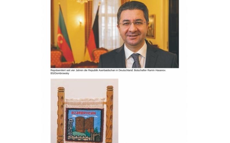 """Almaniyanın """"Behörden Spiegel"""" qəzeti Azərbaycandan yazıb"""