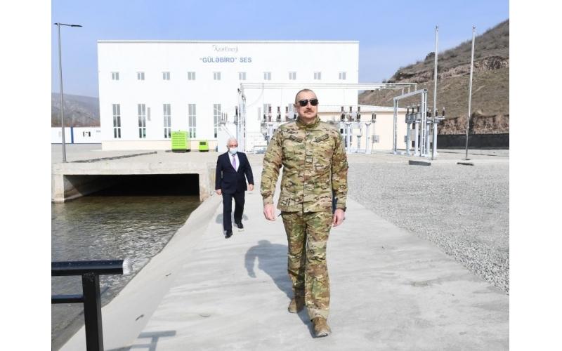 Prezident İlham Əliyev Laçında