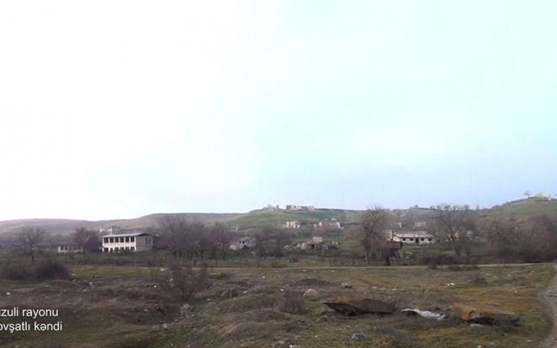 Füzulinin Govşatlı kəndindən -VİDEO
