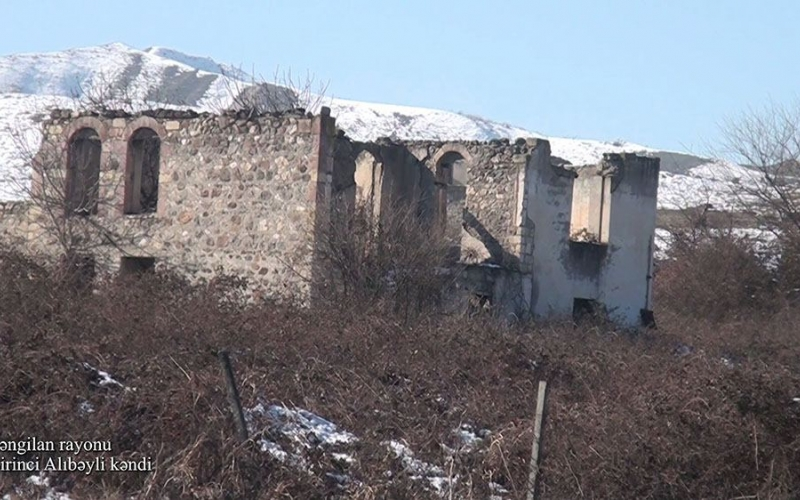 Zəngilan rayonunun Birinci Alıbəyli kəndi  -VİDEO