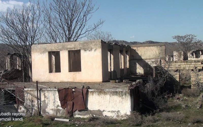 Qubadlının Həmzəli kəndi - VİDEO