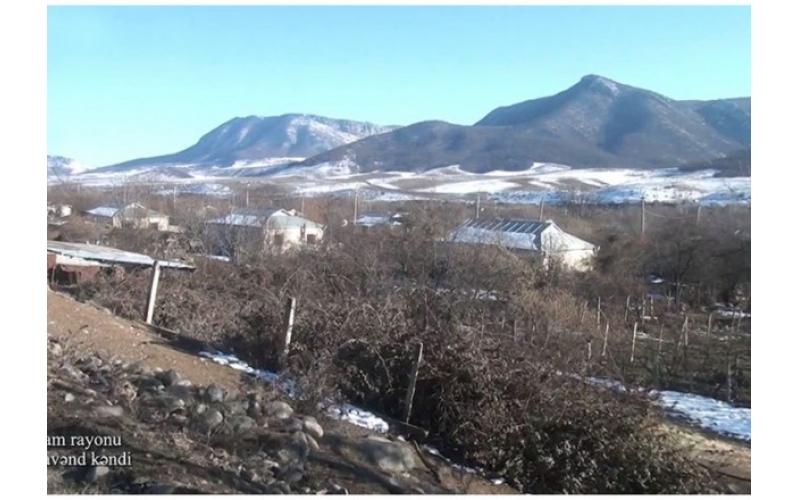 Ermənilərin viran qoyduğu Ağdamın Sırxavənd kəndi - VİDEO