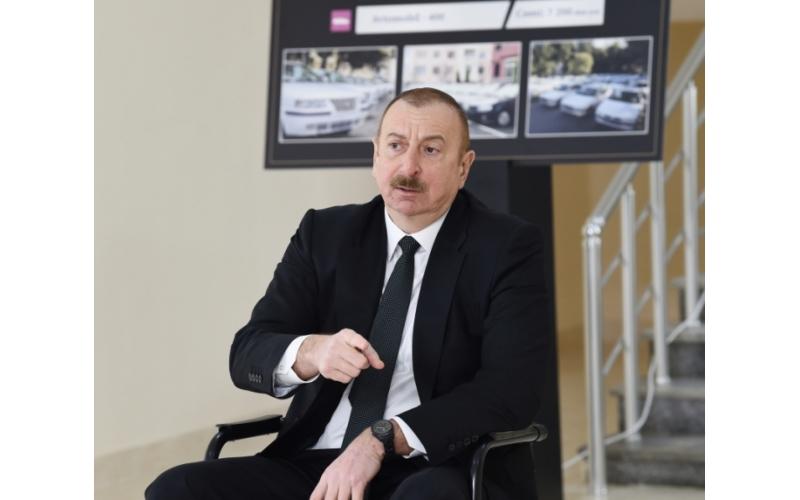 Prezident İlham Əliyev: Göstərdik ki, müzəffər xalq Azərbaycan xalqıdır