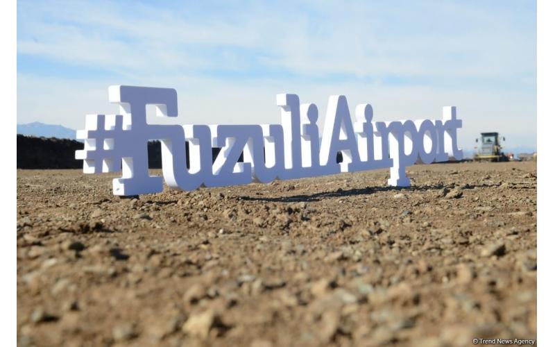 Azad edilmiş ərazilərdə aeroportların tikintisi üçün idxal olunan bəzi mallar gömrük rüsumundan azad edilib