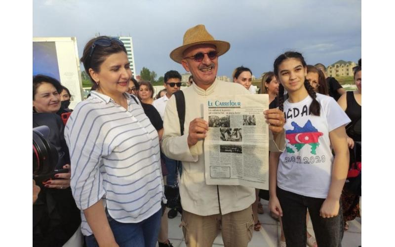 Bakıda məşhur fotoqraf Reza Deqatinin fotolarından ibarət sərgi təşkil olunub