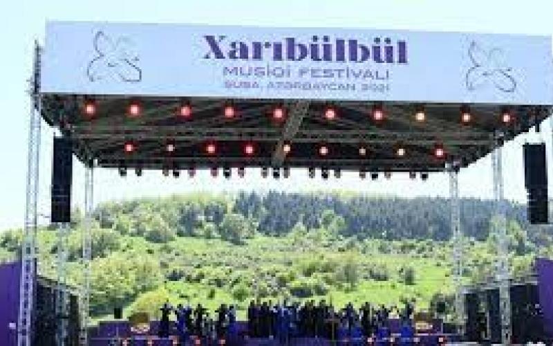 """""""Xarıbülbül"""" beynəlxalq musiqi kompozisiyası"""