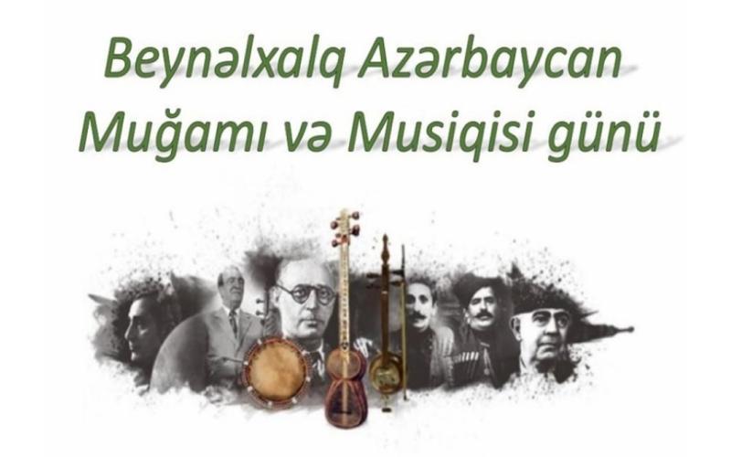 """""""Beynəlxalq Azərbaycan Muğamı və Musiqisi Günü"""" adlı sərgi istifadəçilərə təqdim olunub"""