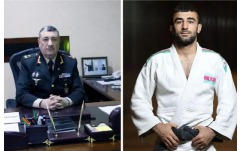 General-mayor Natiq Əliyevdən Paralimpiya Oyunlarının bürünc mükafatçısı ilə bağlı AÇIQLAMA