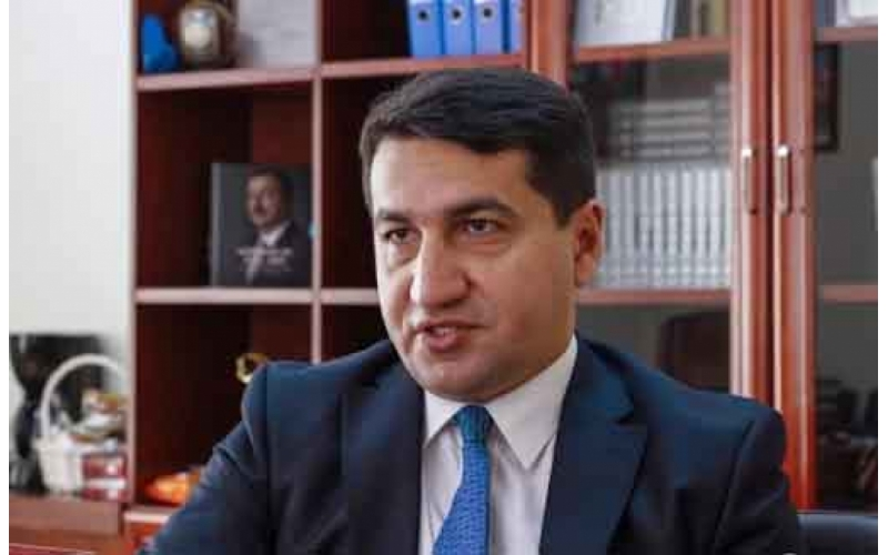 Sülhməramlıların mandatı barədə Hikmət Hacıyevdən - Açıqlama