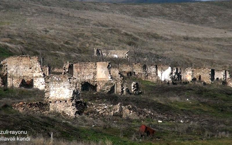 Füzulinin Mollavəli kəndi - VİDEO
