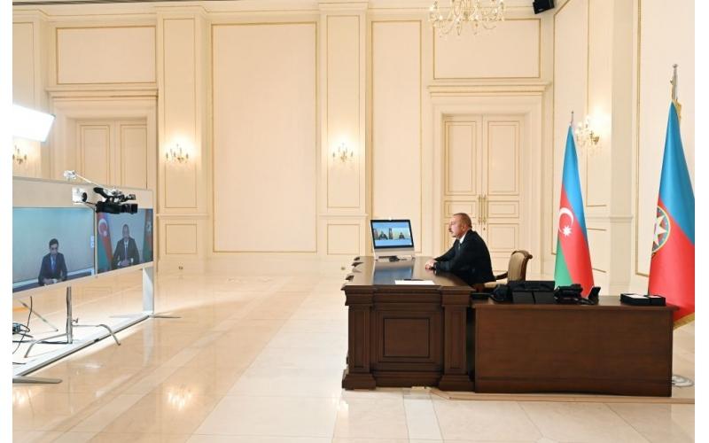 Prezident İlham Əliyev: Gənc nəsil mənfi xarici təsirdən uzaq olmalıdır