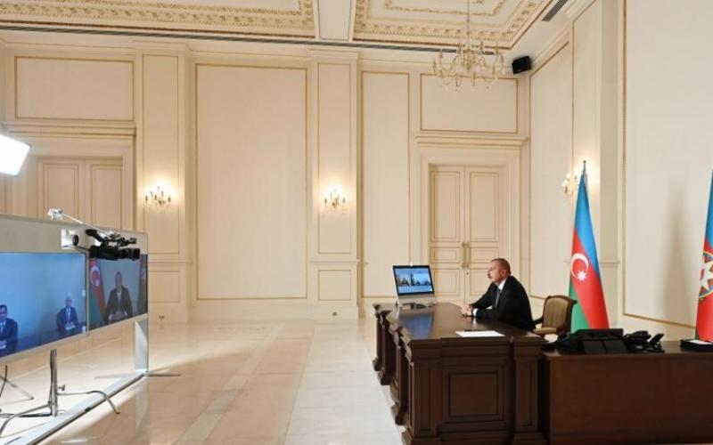 Prezident İlham Əliyev Cəlilabad və Şəmkirin yeni icra başçılarını videoformatda qəbul edib