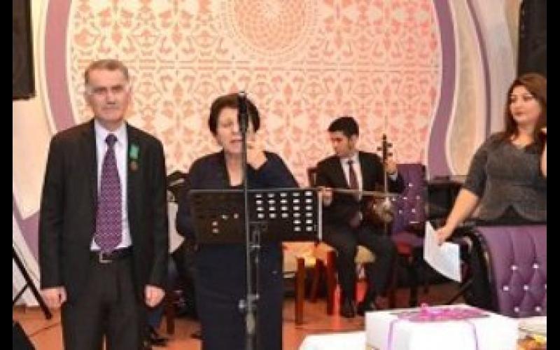 Şamil Sabiroğlunun 50 illik yubleyi qeyd olundu