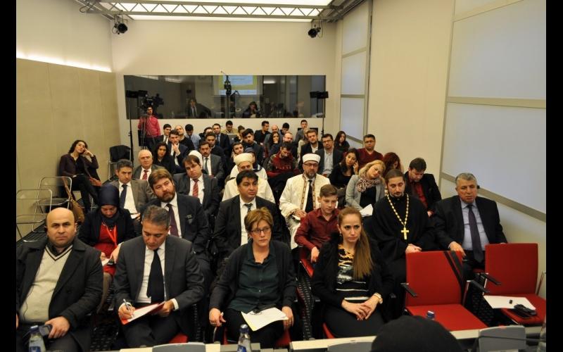 Brüsseldə  keçirilən beynəlxalq simpoziumda Azərbaycanın tolerantlıq modelindən bəhs edilib