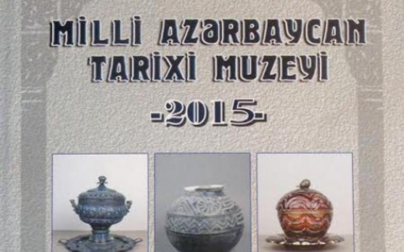 Milli Azərbaycan Tarixi Muzeyinin məqalələr toplusu çap olunub