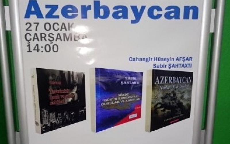 """İstanbulda """"Azərbaycanı tanıdaq!"""" devizi ilə keçirilən toplantı kitabsevərləri bir araya gətirib"""