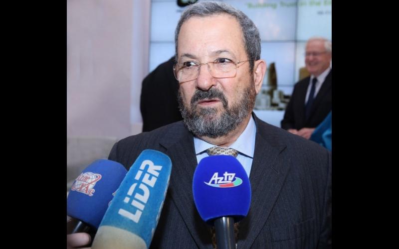 Ehud Barak: Azərbaycan bütün cəmiyyətlərə açıq tolerant ölkədir