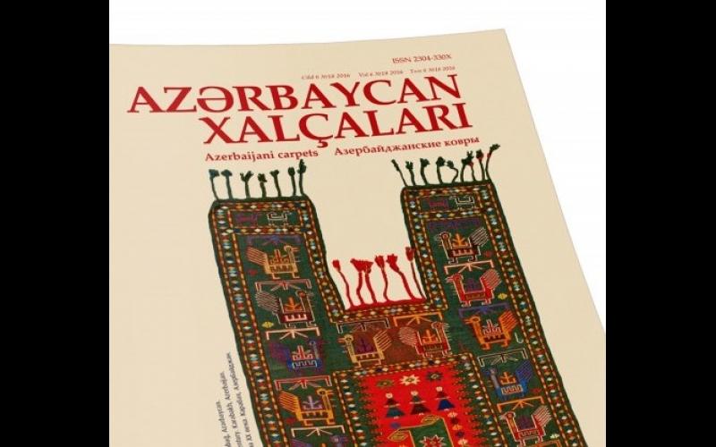 """""""Azərbaycan xalçaları"""" jurnalı"""