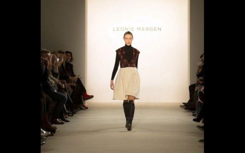"""Leoni Mergenin """"Qarabağ kolleksiyası"""" London moda həftəsində nümayiş etdiriləcək"""