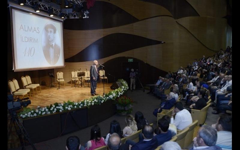 İstiqlal şairi Almas İldırımın 110 illiyi qeyd olunub