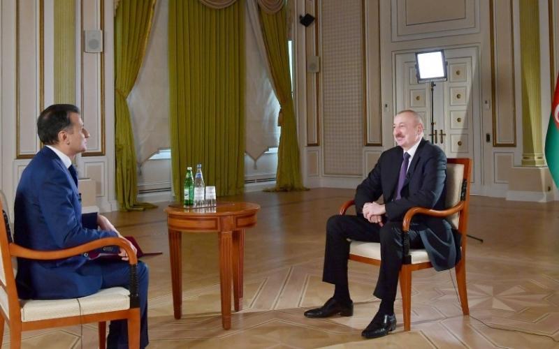 Prezident İlham Əliyevin Real televiziyasına müsahibəsi