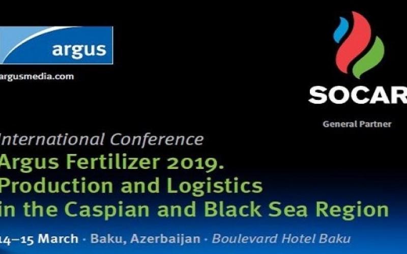"""""""Argus Mineral Gübrələr 2019. Xəzər-Qara dəniz regionunda istehsal və logistika"""" konfransı keçiriləcək"""