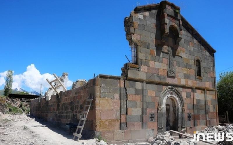 Ermənilərin Gürcüstanın daha bir kilsəsini saxtalaşdırma cəhdi