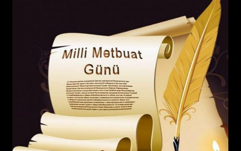 Azərbaycan milli mətbuatının yaranmasından 144 il ötür