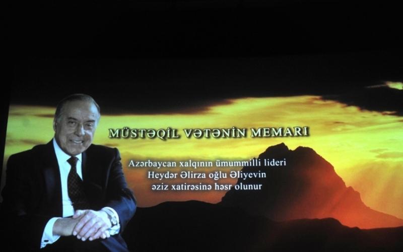 """""""Müstəqil vətənin memarı"""" videofilminin təqdimatı olub"""