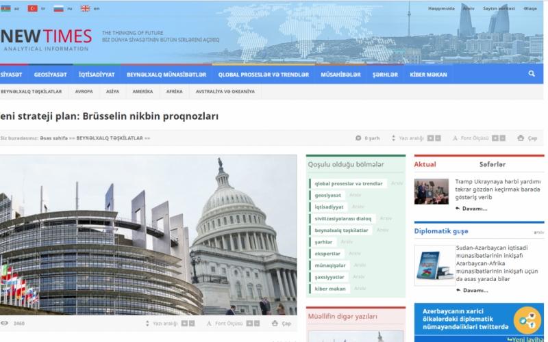 Yeni strateji plan: Brüsselin nikbin proqnozları
