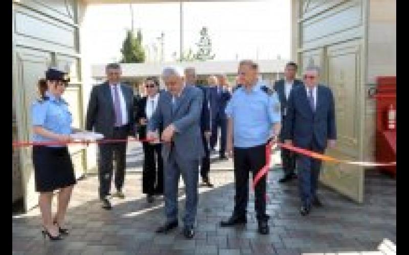 SOCAR-ın Fontana Qarşı Dağmədənxilasetmə Hərbiləşdirilmiş Hissəsinin yeni inzibati binasının açılışı olub