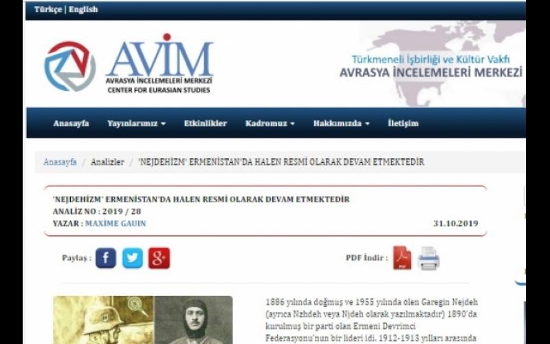 Tanınmış fransız tarixçi Ermənistanı faşizm ideyalarını yaşatmaqda ittiham edir