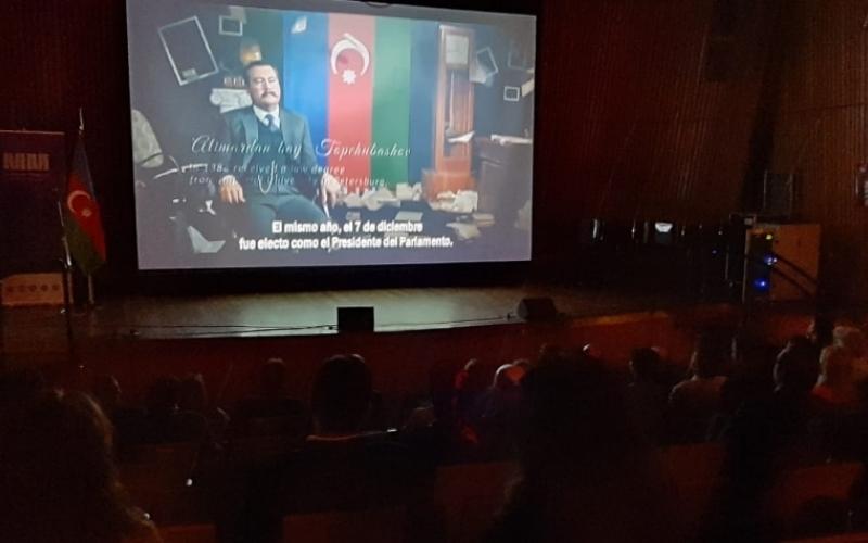 """""""Əbədi ezamiyyət"""" filmi  Argentinada nümayiş olunub"""