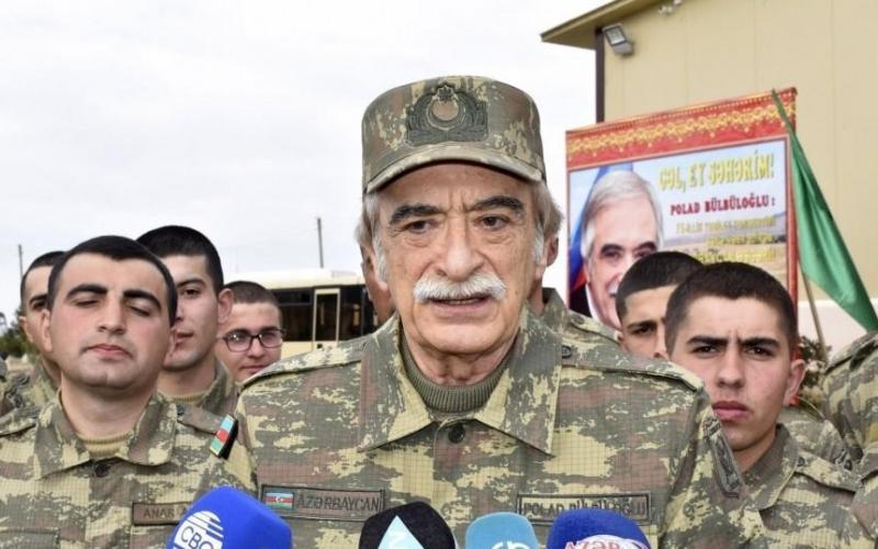 Polad Bülbüloğlunun 75 illik yubileyi cəbhə bölgəsində qeyd olunub