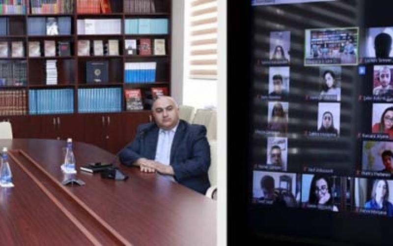 """""""Karabakh İs Azerbaijan!"""" adlı """"YouTube"""" kanalının təqdimatı keçirilib"""