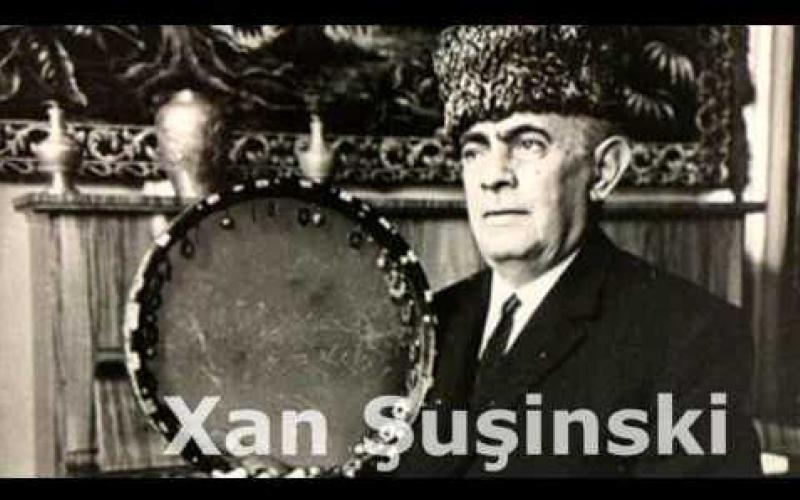 Vikipediyada Xan Şuşinski haqqında əcnəbi dildə bölmə yaradılıb