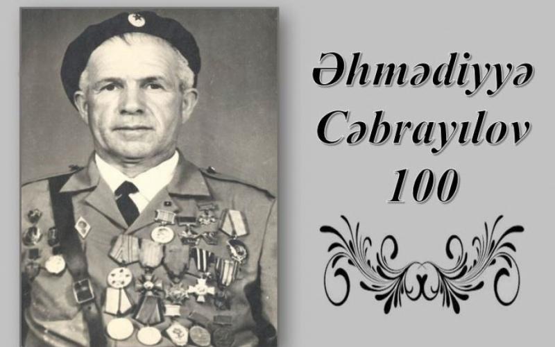 """Əhmədiyyə Cəbrayılov–100"""" adlı virtual sərgi"""
