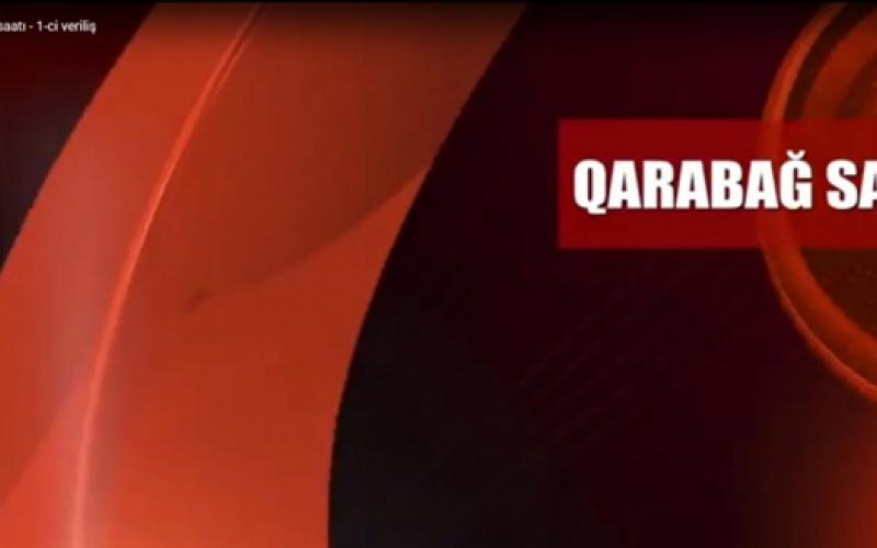 """""""Qarabağ saatı""""  başladı"""