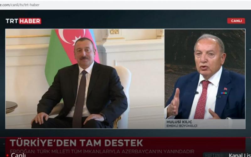 TRT HABER Ermənistan silahlı qüvvələrinin Azərbaycana hücumları ilə bağlı xüsusi proqram yayımlayıb
