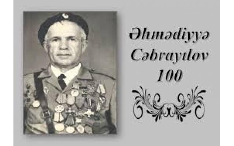 """""""Əhmədiyyə Cəbrayılov – 100"""" adlı daycest istifadəçilərə təqdim edildi"""