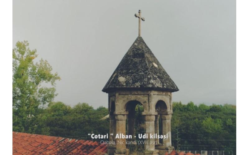 """Xristian irsimizi tanıyaq"": Çotari Alban-Udi kilsəsi"