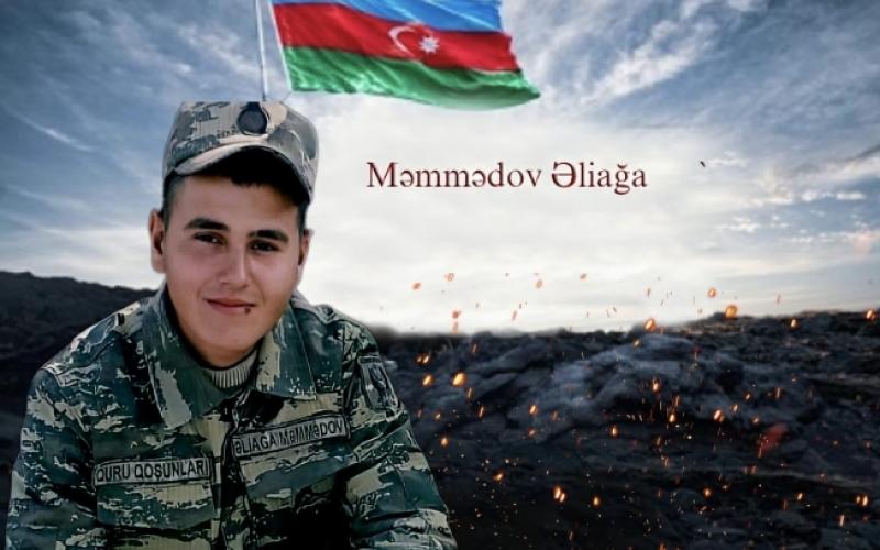 Şəhidimiz Əliağa Məmmədovun xatirəsinə videoçarx hazırlanıb