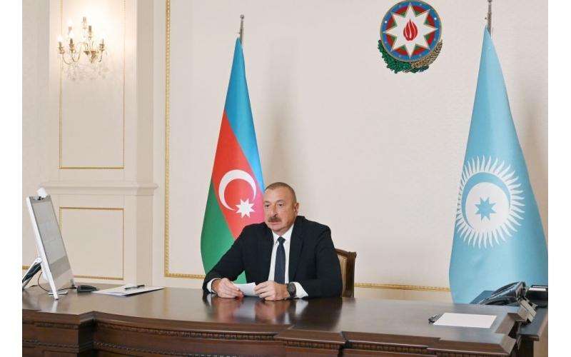 Azərbaycan Prezidenti: Qədim Azərbaycan torpağı olan Zəngəzur indi türk dünyasının birləşməsi rolunu oynayacaq